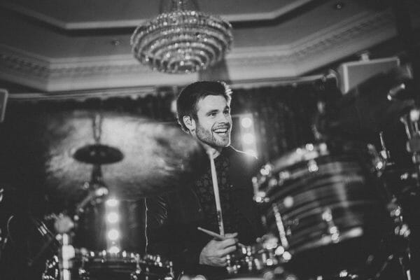 trilogy south wales wedding band drummer