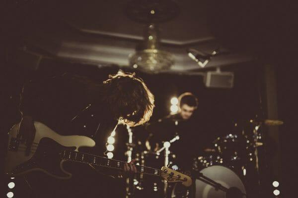 indie rock 3 piece wedding band