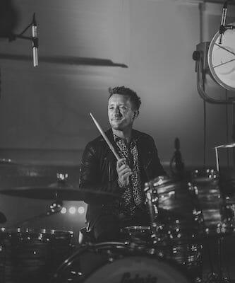 chris drummer audio sugar wedding band