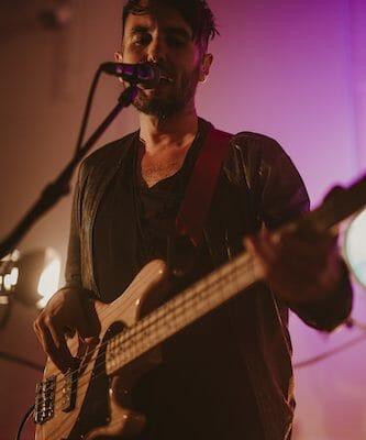bassist west wales wedding band audio sugar