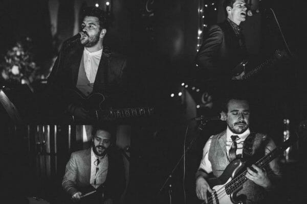 coverland four piece wedding party band south west
