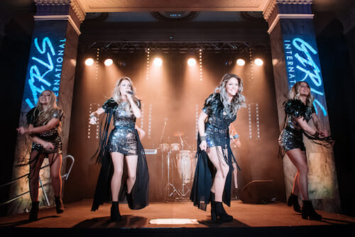 Girls International fun filled performance is the perfect entertainment for corporate parties