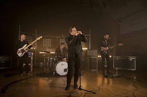 Rock cover band iRock providing wedding reception entertainment