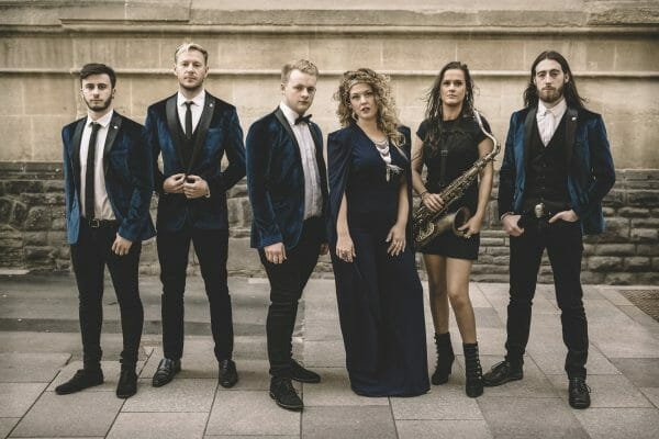 Office party in London corporate entertainment by Velvet Soul