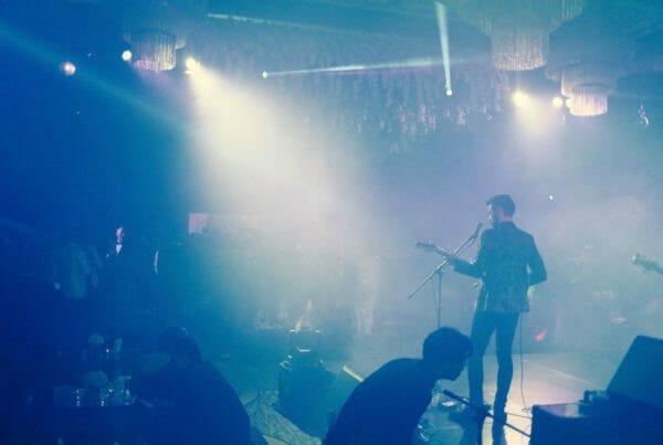 irock performing live