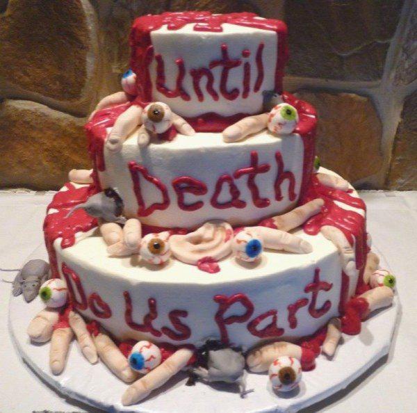 bad wedding cake