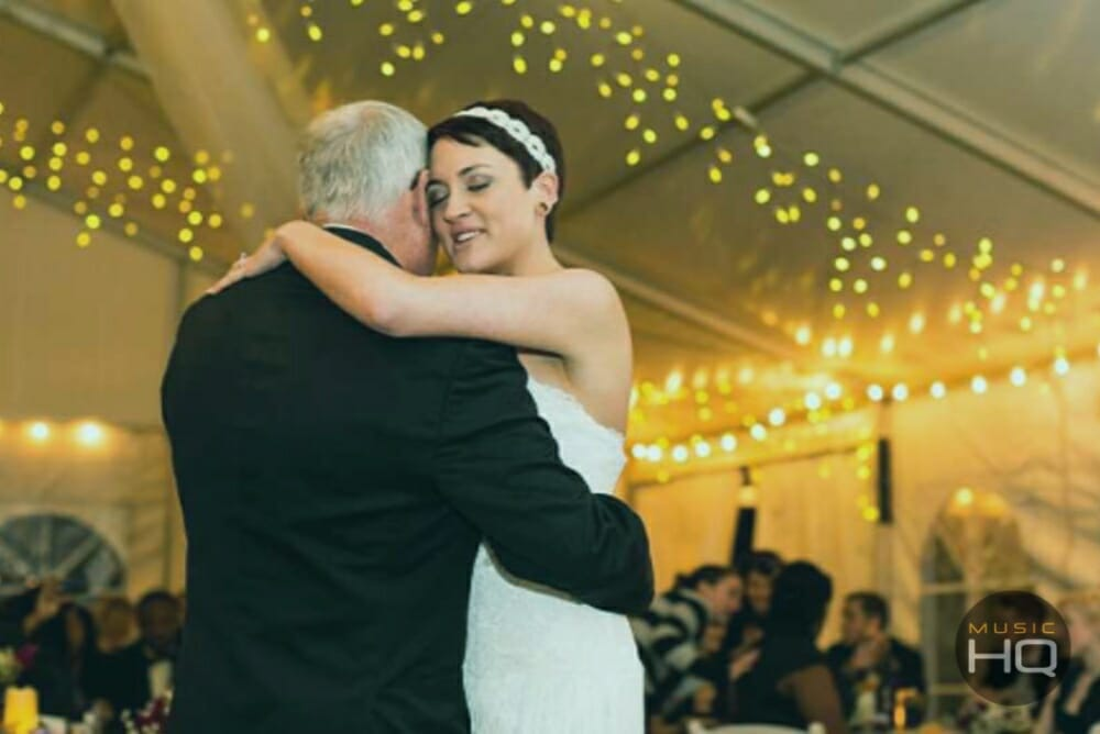 Father Daughter Dance in Wales