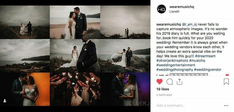 Oliver Jenkins Wedding Photography