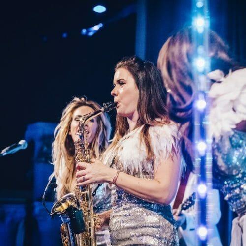 big day wedding showband saxophone