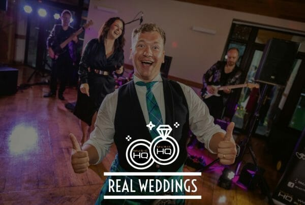 Music HQ Real Wedding Canada Lodge and Lake