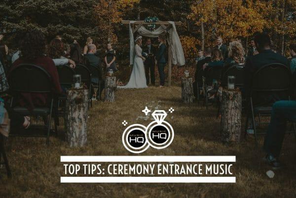 wedding ceremony entrance music