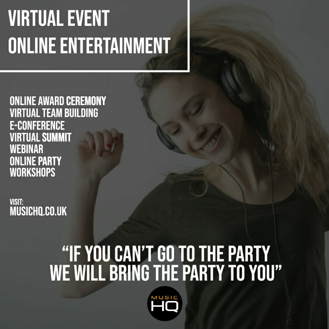 entertainment for virtual event