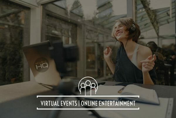 entertainment for virtual event online